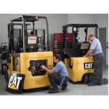 assistência técnica de empilhadeira elétrica